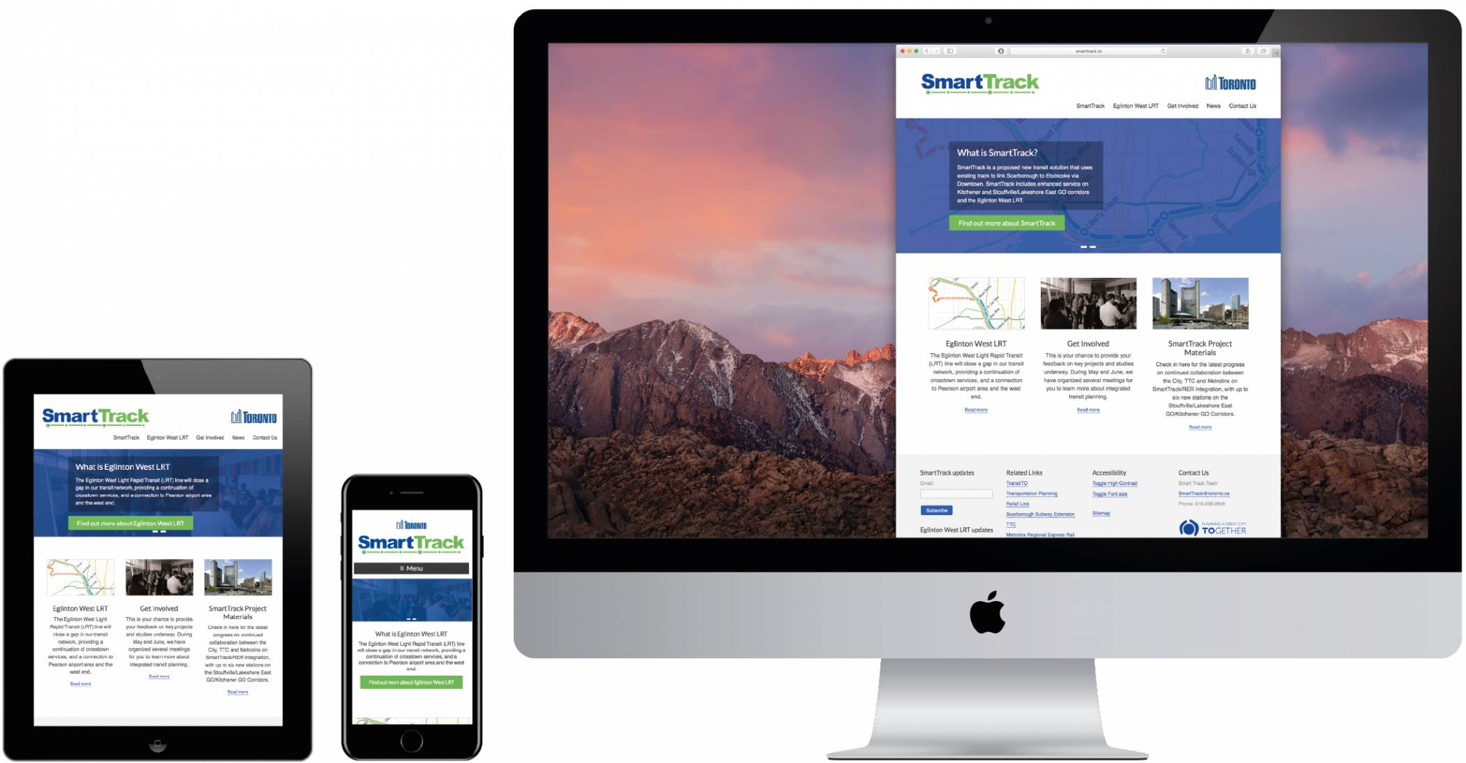 SmartTrack Logo and Responsive Website Design